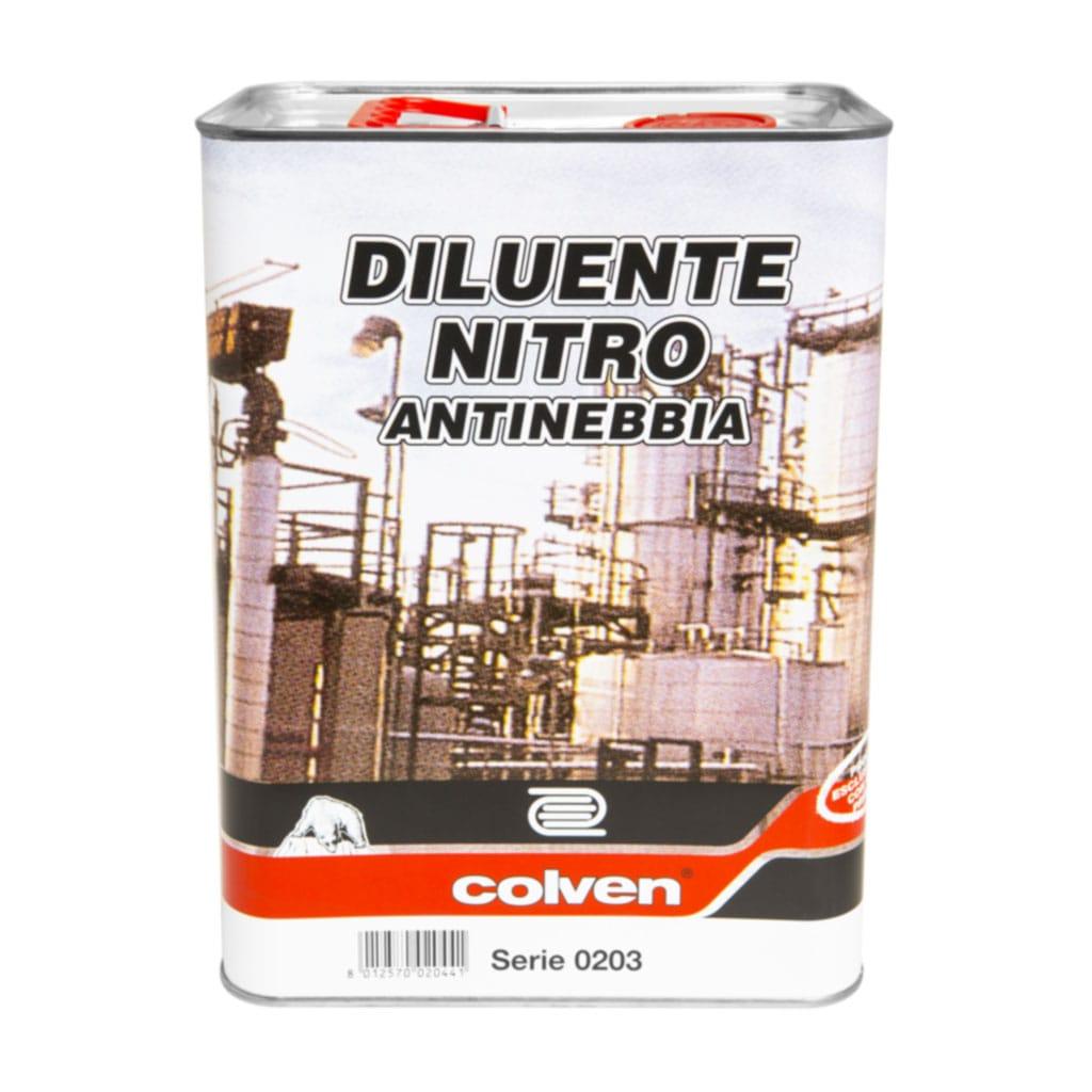 Diluente nitro special antinebbia