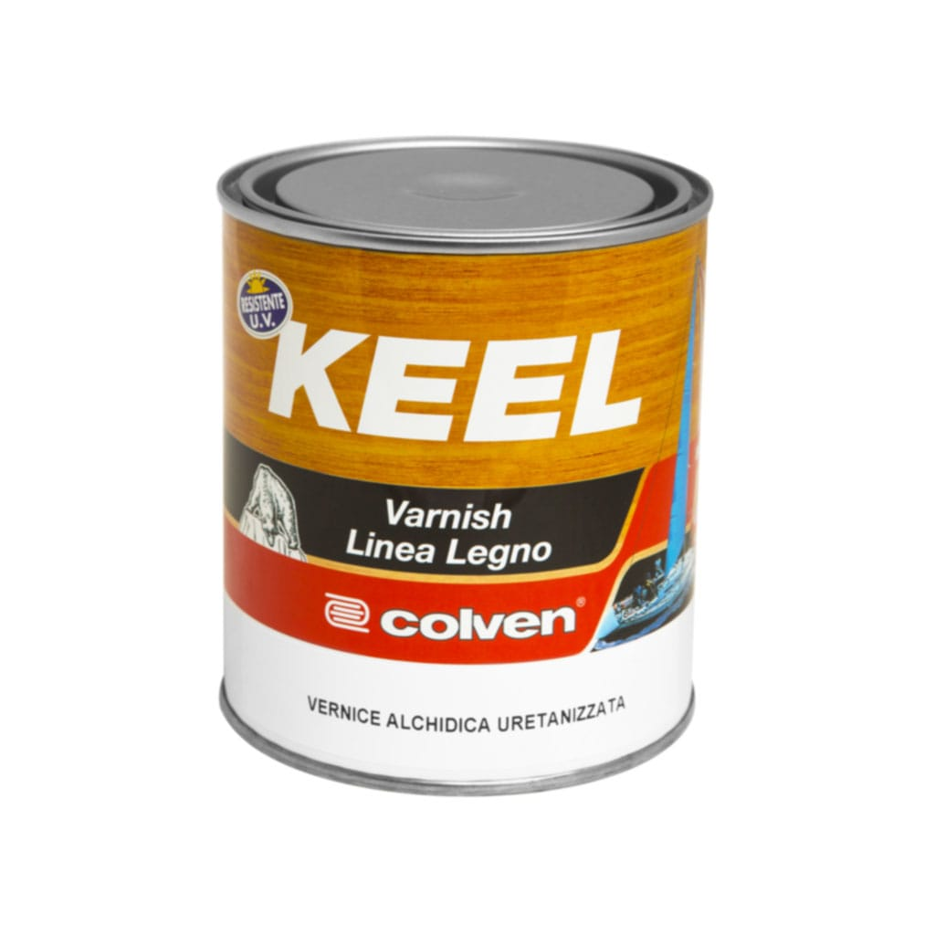 Keel varnish colorata